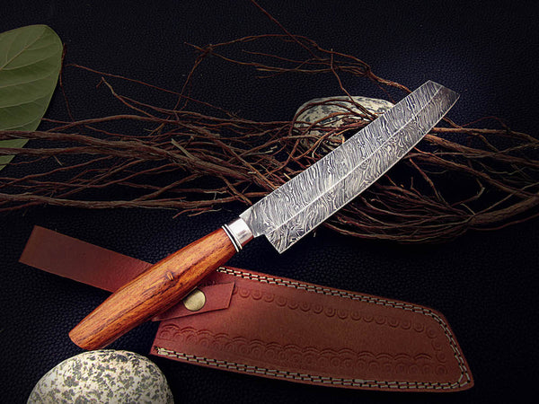 13 inches Custom Handmade Damascus Chef Knife