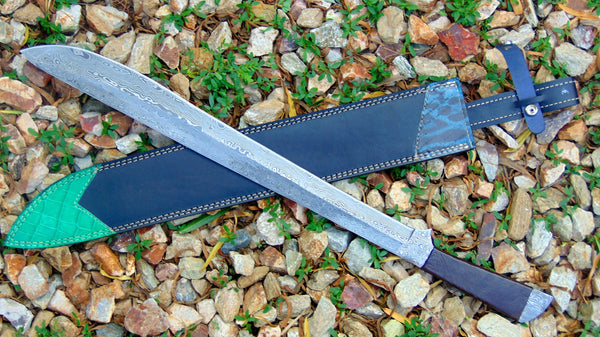 Damascus Hand Forge Sword