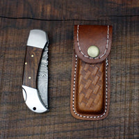 Folding Knife with Lock Back Mechanism