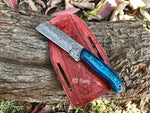 |NB KNIVES| Custom Handmade Damascus Steel Bull Cutter knife