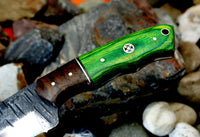 1095 Steel Hand FORGED HUNTING CAMPING EDC Knife HANDLE HARDWOOD