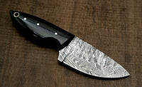 Custom Handmade Damascus Steel Hunter Camping Knife EDC