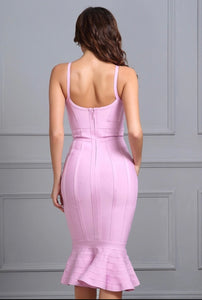 C'est La Vie Long Bandage Dress