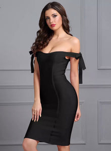 Little Black Dress Strapless Dress