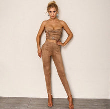 Load image into Gallery viewer, Smooth Moves Buckle Two-Piece Pant Set SALE