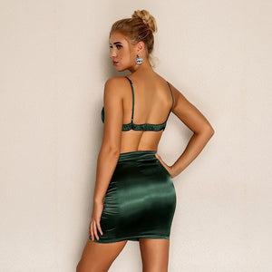Green Machine Sexy Two-Piece Set