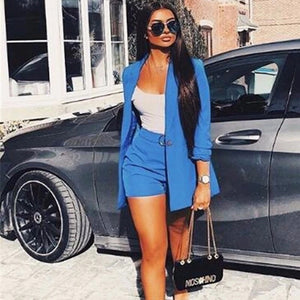 925 Blazer and Shorts Two-Piece Set