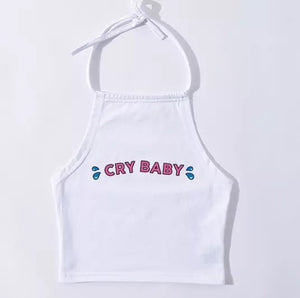 Crybaby Halter Crop Top