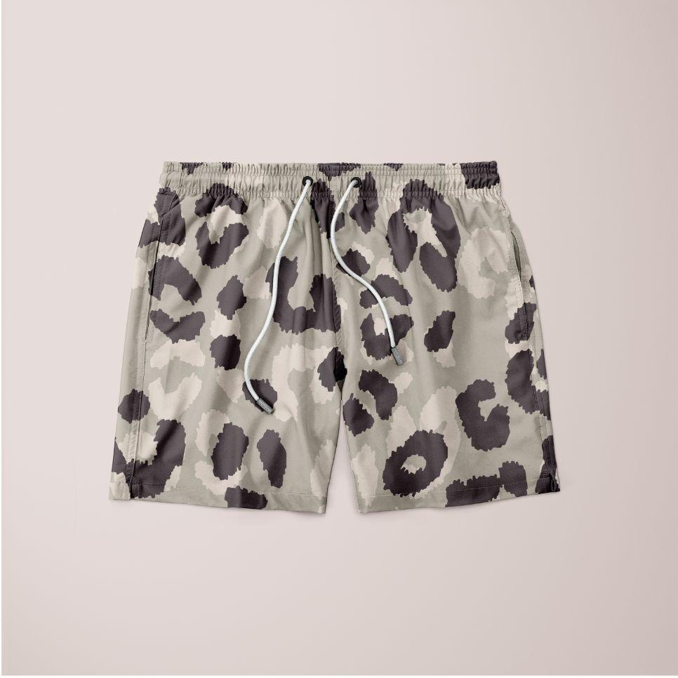 Leopard Pattern Shorts Variant 1