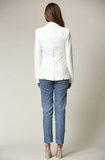 Samantha Blazer Featuring a Notched Lapel Collar