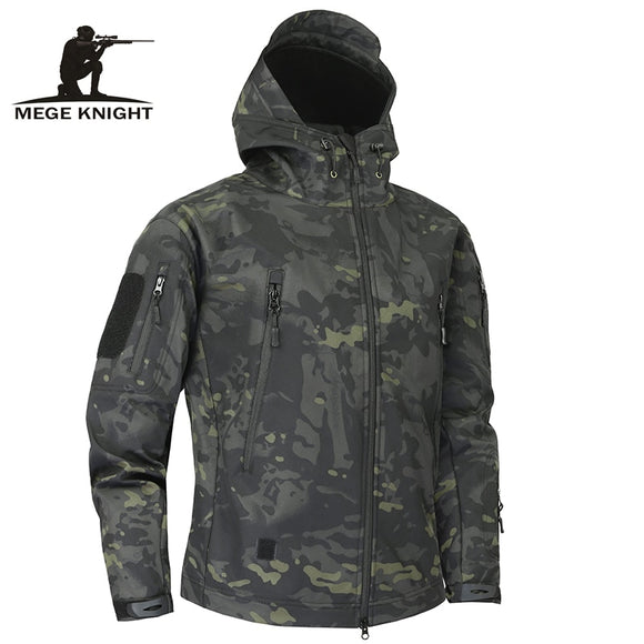 Mege Knight Shark Skin Soft Shell Military Tactical Jacket