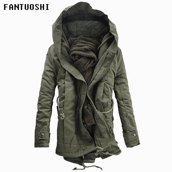 New Padded Parka Cotton Hooded Jacket
