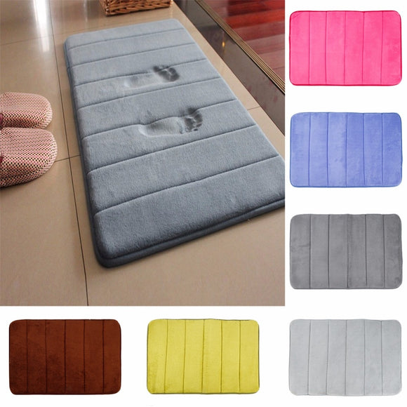 Coral fleece Memory Foam Bathroom