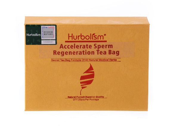 Hurbolism Accelerate Sperm Regeneration Tea