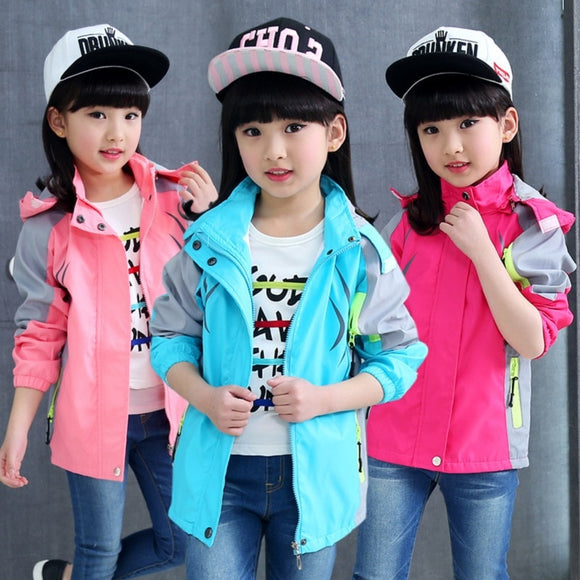 3 Colours Girls Jackets Coats