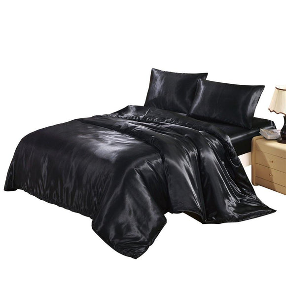 Satin Silk Bedding Set