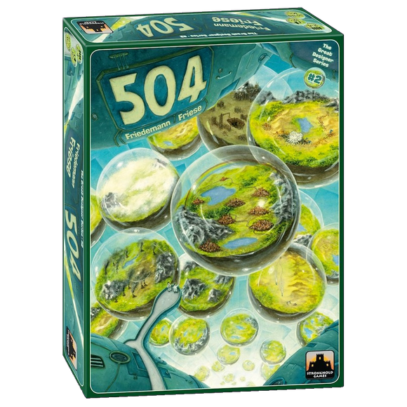 Front cover of the box of 504 (The Great Designers Series #2)