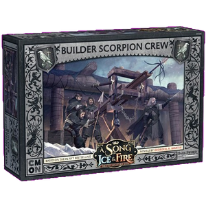 Front cover of the box of A Song of Ice & Fire Builder Scorpion Crew