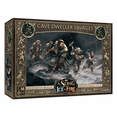 Front cover of the box of A Song of Ice & Fire Cave Dweller Savages