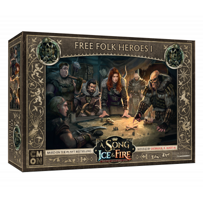 Front cover of the box of A Song of Ice & Fire Free Folk Heroes I