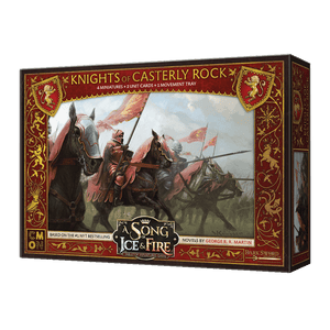 Front cover of the box of A Song of Ice & Fire Knights of Casterly Rock