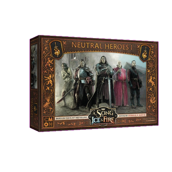 Front cover of the box of A Song of Ice & Fire Neutral Heroes I
