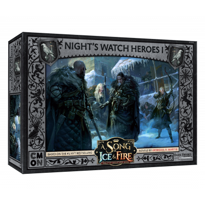 Front cover of the box of A Song of Ice & Fire Night's Watch Heroes I