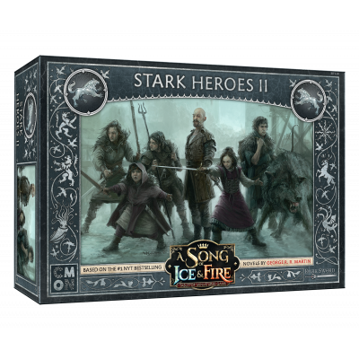 Front cover of the box of A Song of Ice & Fire Stark Heroes II