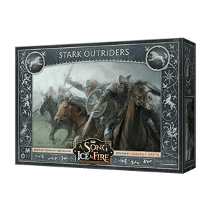 Front cover of the box of A Song of Ice & Fire Stark Outriders