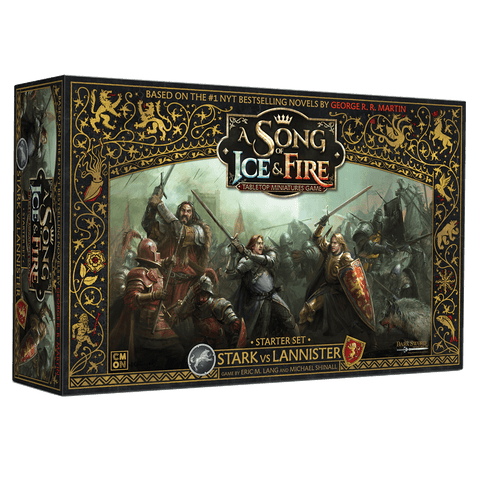 A Song of Ice & Fire Starter Set Stark vs Lannister
