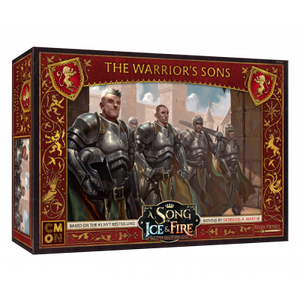Front cover of the box of A Song of Ice & Fire The Warrior's Sons