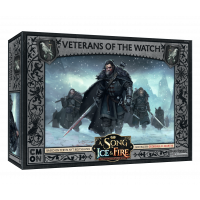 Front cover of the box of A Song of Ice & Fire Veterans of the Watch