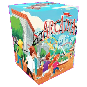 Front cover of the box of Arcadia