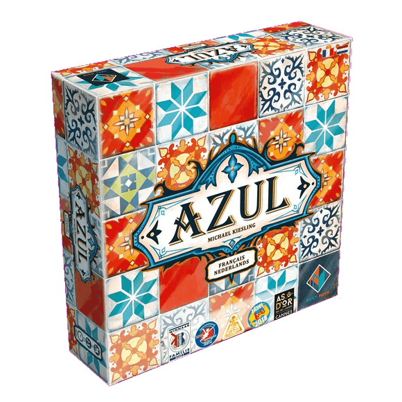 Front cover of the box of Azul NL/FR