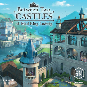 Front cover of the box of Between Two Castles of Mad King Ludwig