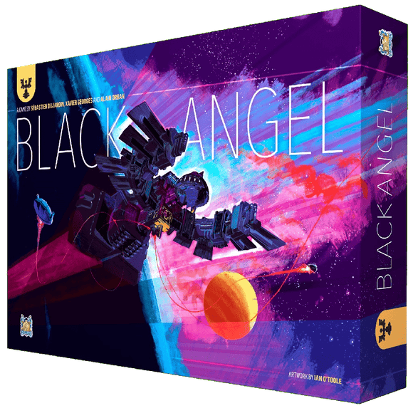 Front cover of the box of Black Angel