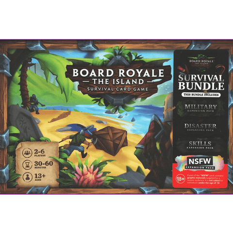 Board Royale the Island Survival Bundle