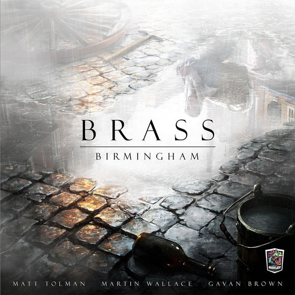Front cover of the box of Brass: Birmingham