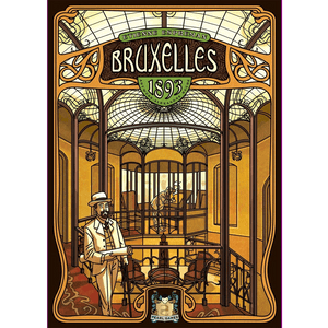 Front cover of the box of Bruxelles 1893