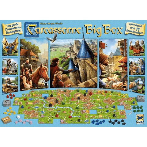 Carcassonne Big Box 6 DE