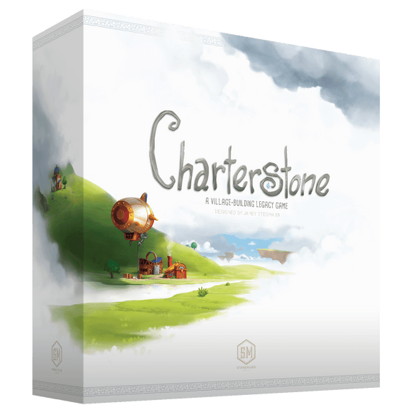 Front cover of the box of Charterstone