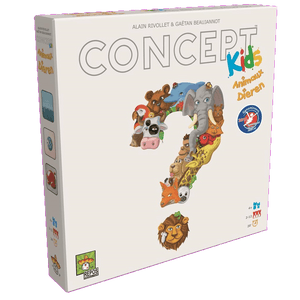 Front cover of the box of Concept Kids Dieren-Animaux