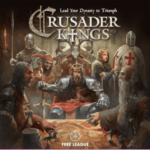 Front cover of the box of Crusader Kings