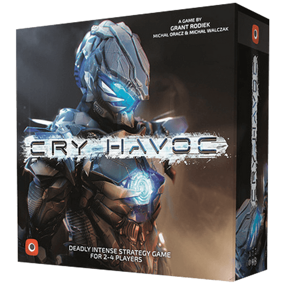 Front cover of the box of Cry Havoc