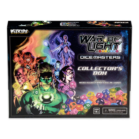 DC Comics Dice Masters - War of Light Collectors Box