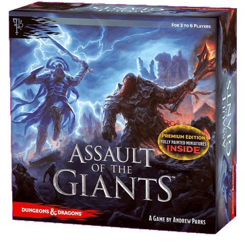 D&D Assault of the Giants Board Game Premium Edition