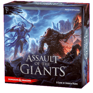 Front cover of the box of D&D Assault of the Giants Board Game Standard Edition