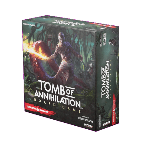 D&D Tomb Of Annihilation Board Game Standard Edition