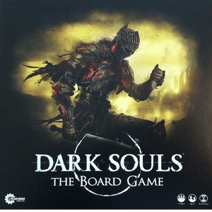 Front cover of the box of Dark Souls: The Board Game