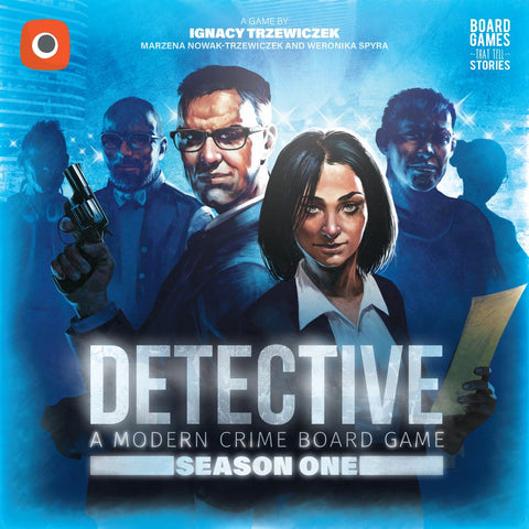 Detective: A Modern Crime Board Game: Season One
